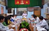 Đoàn Đại biểu Quốc hội giám sát Công ty Cổ phần Cấp nước và Dịch vụ Đô thị huyện Bến Lức
