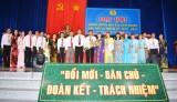 Ông Trần Văn Mé tái đắc cử Chủ tịch Liên đoàn Lao động huyện Cần Giuộc nhiệm kỳ 2018 - 2023