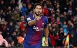 """Suarez """"nổ súng"""", Barca thắng sát nút Valencia ở Cúp nhà vua"""