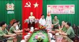 Chủ tịch UBND tỉnh Long An chúc tết Công an tỉnh