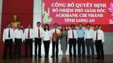 Bổ nhiệm ông Nguyễn Trí Dũng giữ chức Phó Giám đốc Agribank chi nhánh tỉnh Long An
