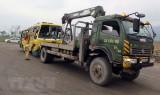 Vụ lật xe ở Đà Nẵng: Khẩn trương cứu chữa cho các nạn nhân