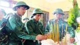 Hội trại tòng quân nâng bước tân binh lên đường