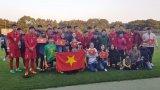 U-16 VN tranh vô địch với U-16 Indonesia tại Nhật