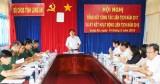 Bộ CHQS tỉnh Long An ký kết chương trình phối hợp liên tịch năm 2018