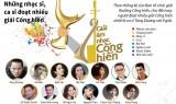 [Infographics] Những nhạc sĩ, ca sĩ đoạt nhiều giải Cống hiến