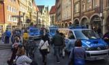 Tấn công bằng đâm xe ở Đức: Lái xe tự sát, truy lùng 2 nghi can