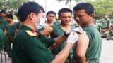 480 chiến sĩ mới được chăm sóc sức khỏe
