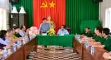 Ban Tuyên giáo Trung ương khảo sát tình hình an ninh biên giới tại Long An