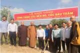 Đức Huệ: Tổ chức tôn giáo tham gia xây dựng nông thôn mới