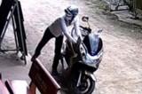 Bắt nhanh đối tượng trộm môtô