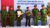 Thành lập Đồn Công an Khu công nghiệp Thuận Đạo mở rộng