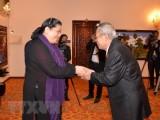 Lãnh đạo cao cấp Campuchia đánh giá cao quan hệ hợp tác với Việt Nam