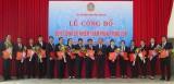 Công bố và trao quyết định bổ nhiệm 16 Thẩm phán trung cấp