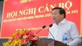 Bí thư Tỉnh ủy Long An – Phạm Văn Rạnh báo cáo nhanh kết quả Hội nghị Trung ương 7 cho cán bộ chủ chốt