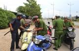 Diễn tập truy bắt đối tượng trộm xe môtô