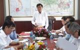 Chủ tịch UBND tỉnh Long An - Trần Văn Cần làm việc với Công ty Cổ phần Đồng Tâm