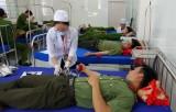 100 đoàn viên, thanh niên Công an tỉnh: Tham gia hiến máu tình nguyện