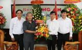 Các đơn vị chúc mừng Báo Long An nhân Ngày Báo chí Cách mạng Việt Nam