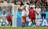 Ronaldo đá hỏng phạt đền, Bồ Đào Nha để Tây Ban Nha soán ngôi đầu bảng