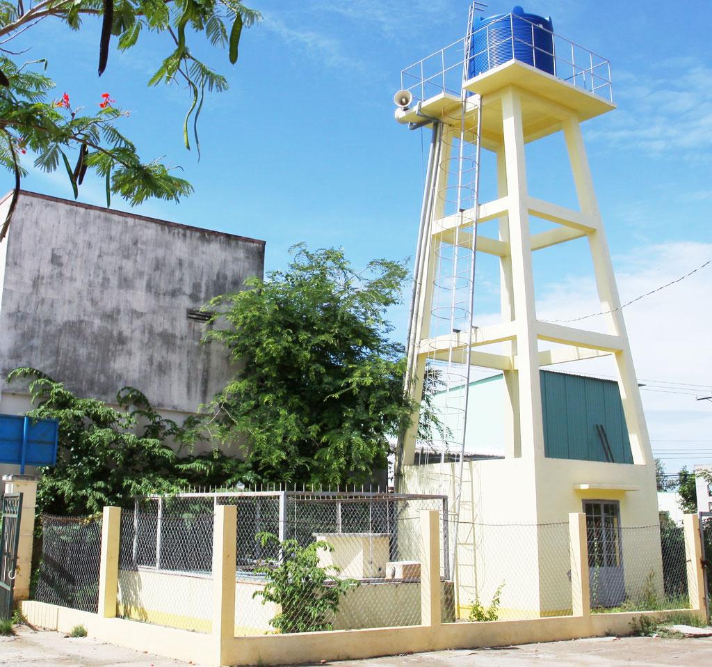 Công trình trạm cấp nước cho các xã vùng hạ - chương trình trọng tâm mang tính đột phá