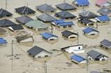 Số thương vong tiếp tục tăng trong đợt mưa lũ kỷ lục tại Nhật Bản
