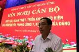 Đảng ủy khối Các cơ quan tỉnh Long An: Quán triệt Nghị quyết Trung ương 7 khóa XII