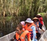 Trải nghiệm Khu du lịch sinh thái Làng nổi Tân Lập