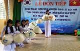 Đoàn Thanh niên Chungcheongnam hoạt động tình nguyện tại Long An