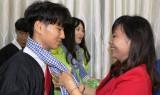 Đoàn Thanh niên Chungcheongnam kết thúc hoạt động tình nguyện tại Long An