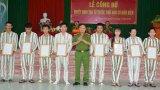 Trại giam Long Hòa công bố quyết định tha tù trước thời hạn cho 20 phạm nhân