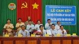 Vĩnh Hưng: Nông dân cam kết thực hiện Tuyến đường An toàn giao thông