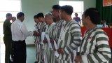6 phạm nhân được tha tù trước thời hạn có điều kiện