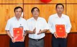 Tỉnh ủy Long An trao các quyết định phân công, bổ nhiệm cán bộ