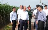 Thủ tướng thăm mô hình chế biến nông sản công nghệ cao tại Tây Ninh