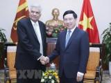 Việt Nam mong muốn phát triển hơn nữa quan hệ với Sri Lanka