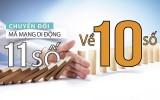 SIM 11 số về 10 số: Ngân hàng cho khách đổi số điện thoại qua website