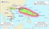 Ngày 17/9, siêu bão Mangkhut tiến thẳng vào các tỉnh ven biển Bắc Bộ
