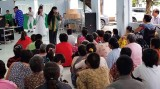 Cty TNHH Tập đoàn An Nông trao quà trung thu tại Trung tâm Bảo trợ xã hội tỉnh Long An
