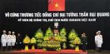 Vô cùng thương tiếc Đại tướng, Chủ tịch nước Trần Đại Quang