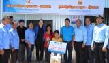 Tuổi trẻ Long An làm công tác xã hội tại Vương quốc Campuchia
