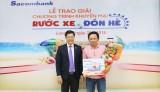"""Sacombank Chi nhánh Long An trao giải thưởng Chương trình """"Rước xe đón hè"""""""