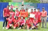 TP.Tân An vô địch giải bóng đá nữ Long An