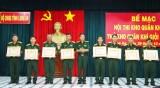Ban CHQS huyện Mộc Hóa đoạt giải nhất Hội thi Kho quân khí tốt năm 2018