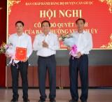 Đồng chí Phạm Văn Bốn được chỉ định giữ chức vụ Bí thư Huyện ủy Cần Giuộc