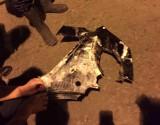 Tìm thấy một mảnh vỡ của xe ôtô rơi xuống sông Hồng