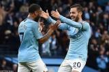 Man City thắng hủy diệt, trở lại ngôi đầu bảng Premier League