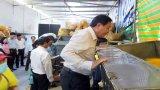 Kinh phí khuyến công hỗ trợ hộ sản xuất bánh tráng trộn bằng máy trộn ngang