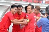 Nhiều danh thủ Long An dự trận đấu kỷ niệm 10 năm Việt Nam vô địch AFF Cup 2008