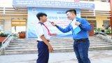 Thanh niên Điện lực Long An làm công tác xã hội tại Châu Thành